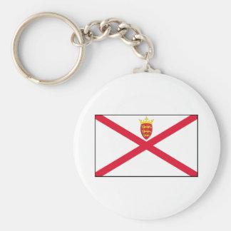 Bandera del jersey llavero redondo tipo pin