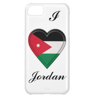 Bandera del jordano de Jordania Carcasa iPhone 5C