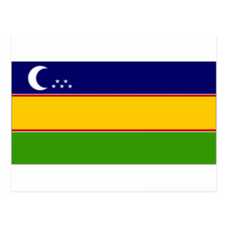 Bandera del karakalpako de Uzbekistán Postales