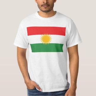 Bandera del Kurdistan de la AMPLIACIÓN DE FOTO Playera