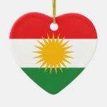 Bandera del Kurdistan Ornato