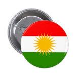 Bandera del Kurdistan Pin