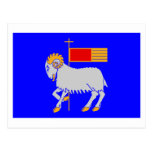 Bandera del län de Gotlands Postal