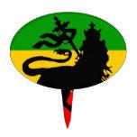 Bandera del león figuras de tarta