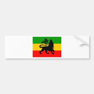 Bandera del león pegatina para auto