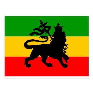 Bandera del león postal