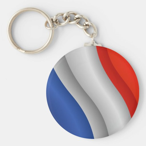 Bandera del llavero de Francia