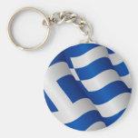 Bandera del llavero de Grecia