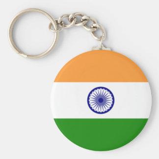 Bandera del llavero de la India