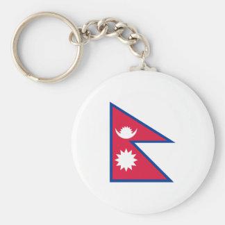 Bandera del llavero de Nepal