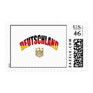 Bandera del logotipo de Deutschland del engranaje  Envio