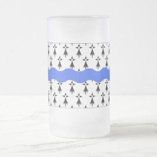 Bandera del Loira-Atlantique Taza De Café