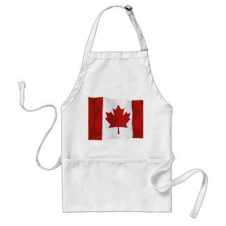 Bandera del l'Unifolié de Canadá Delantal