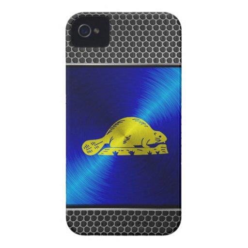 Bandera del metal de Oregon Case-Mate iPhone 4 Protector