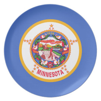 Bandera del Minnesotan Platos