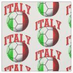 Bandera del modelo del balón de fútbol de Italia Tela