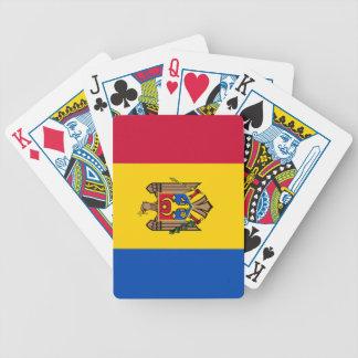 Bandera del Moldavia Baraja Cartas De Poker