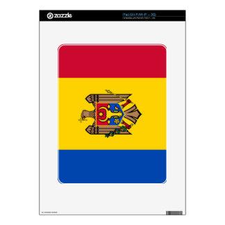 Bandera del Moldavia Calcomanías Para iPad