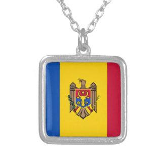 Bandera del Moldavia Colgante Cuadrado