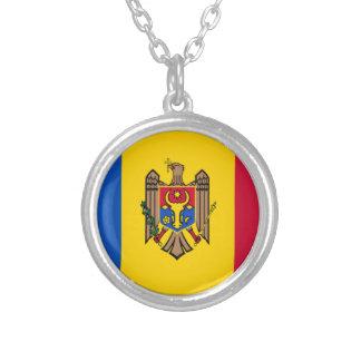 Bandera del Moldavia Colgante Redondo