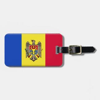Bandera del Moldavia Etiqueta Para Maleta