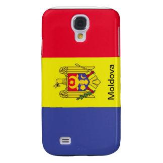 Bandera del Moldavia Funda Para Galaxy S4