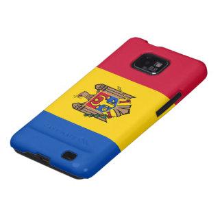 Bandera del Moldavia Galaxy S2 Fundas