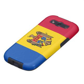 Bandera del Moldavia Galaxy S3 Fundas