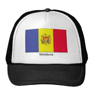 Bandera del Moldavia Gorras De Camionero