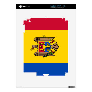 Bandera del Moldavia iPad 2 Calcomanía