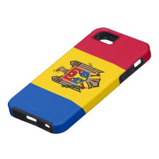 Bandera del Moldavia iPhone 5 Carcasas