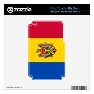 Bandera del Moldavia iPod Touch 4G Skins