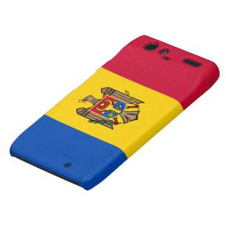 Bandera del Moldavia Motorola Droid RAZR Fundas