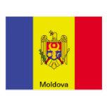 Bandera del Moldavia Postales