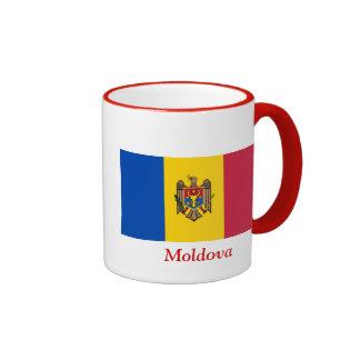 Bandera del Moldavia Taza A Dos Colores