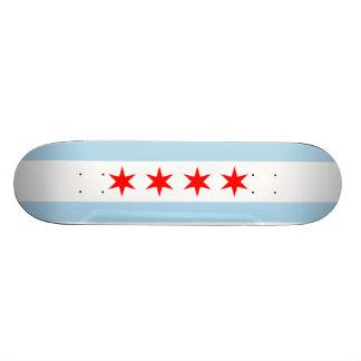 Bandera del monopatín de Chicago Patines