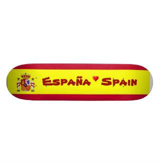 Bandera del monopatín de España