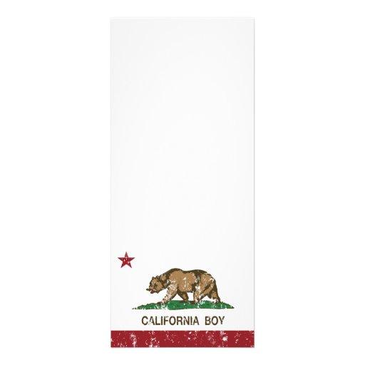 Bandera del muchacho de California Invitación