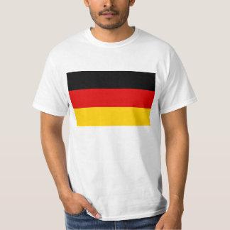 Bandera del mundo de Alemania Remeras