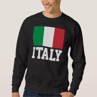 Bandera del mundo de Italia Suéter