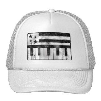 Bandera del Musical de los E.E.U.U. Gorras De Camionero