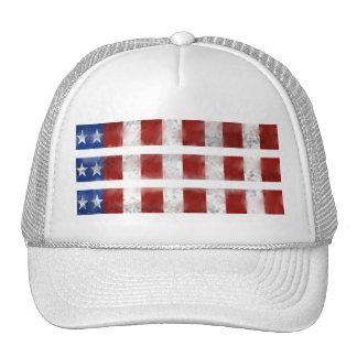 Bandera del Musical de los E.E.U.U. Gorros Bordados
