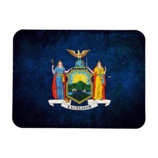 Bandera del neoyorquino imanes