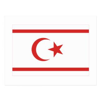 Bandera del norte de Chipre Postal