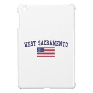 Bandera del oeste de Sacramento los E.E.U.U.