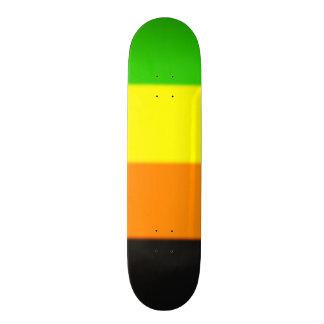 Bandera del orgullo de Fallln Aromantic Skate Board