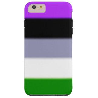 Bandera del orgullo de Falln Genderqueer Funda De iPhone 6 Plus Tough