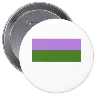 Bandera del orgullo de Genderqueer Pin