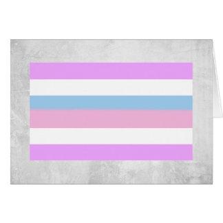 Bandera del orgullo de Intersex Tarjeta De Felicitación