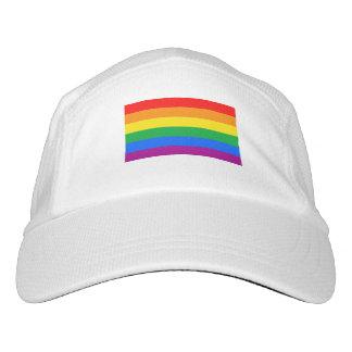 Bandera del orgullo de LGBT/bandera del arco iris Gorra De Alto Rendimiento